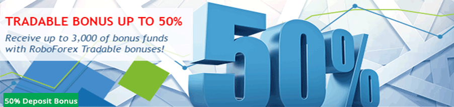 50% tradable roboforex